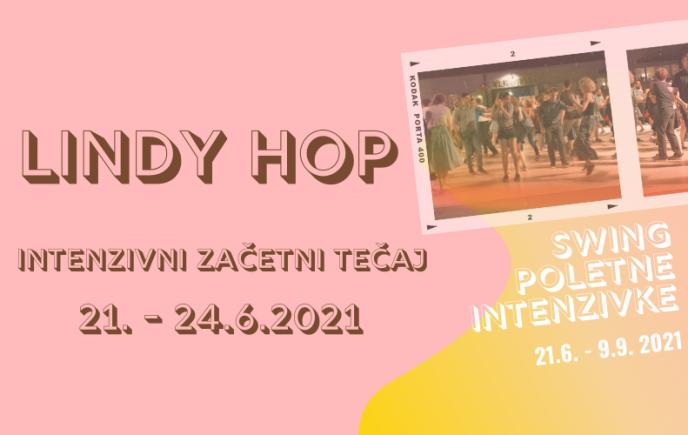 Lindy hop – intenzivni začetni tečaj