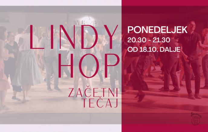 Lindy Hop – začetni tečaj 2021/22